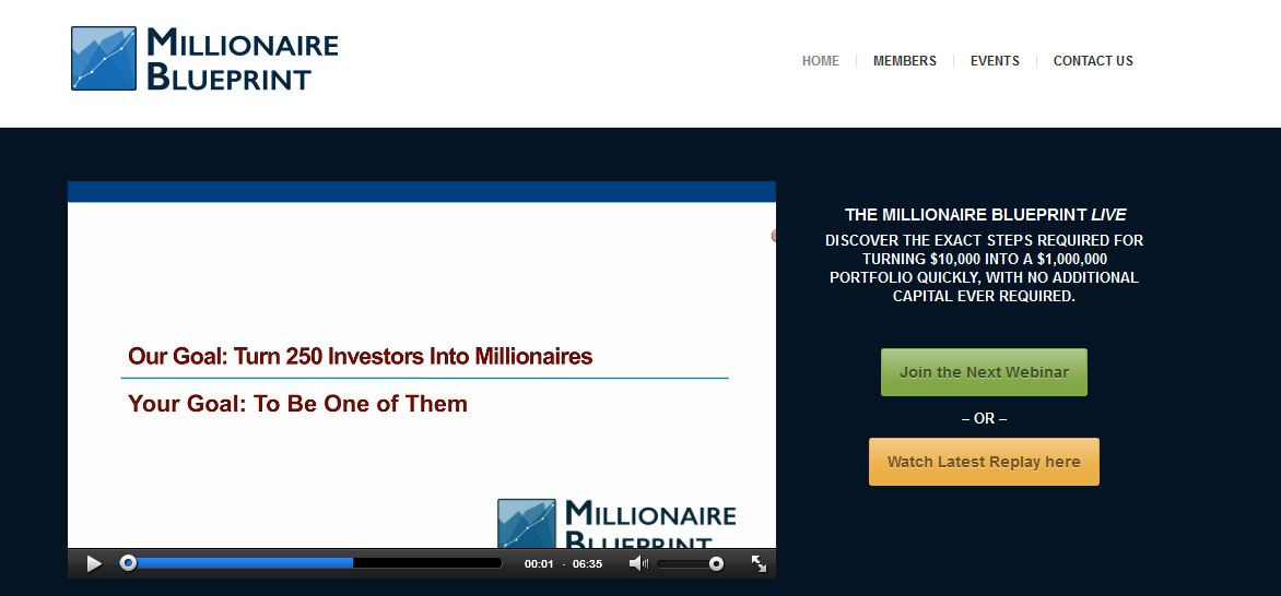 Millionaire blueprint review main page malvernweather Gallery