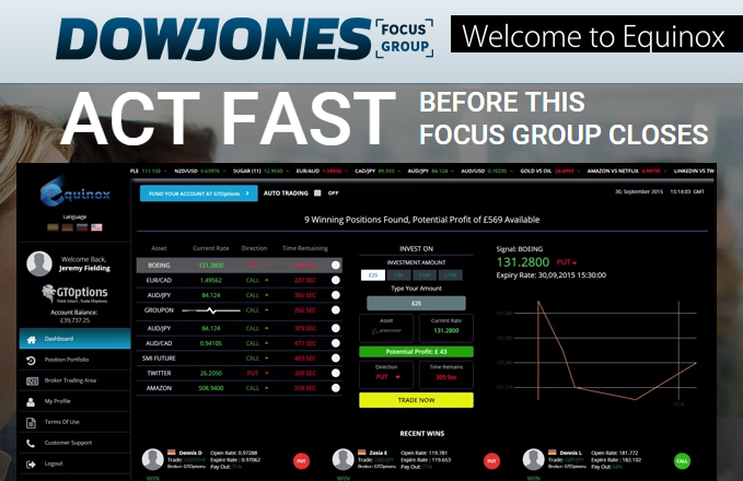 DowJones Focus Group