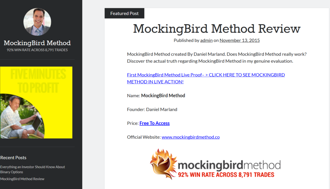 Mocking Bird Method Main